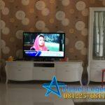 Bufet Tv Putih Model Minimalis Klasik Mewah