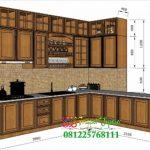 Kitchen Set Jati Jepara Kayu Super